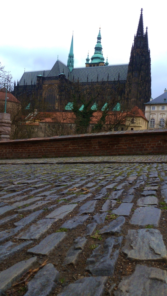 Cobbles near St. Vitus' Cathedral