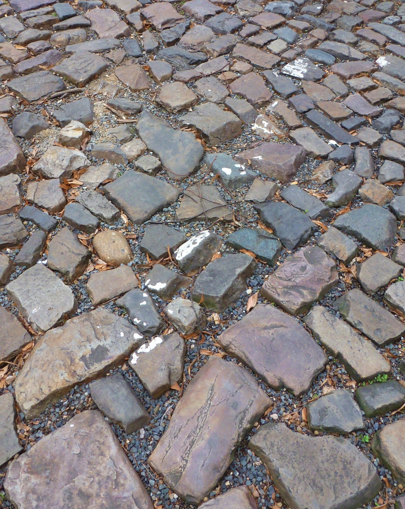 Appropriately for this article's subject, some of the worst cobblestones rest outside the French Embassy.